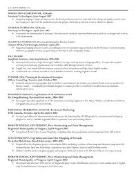 Sample Resume For Programmer by Geographic Information System Specialist Resume