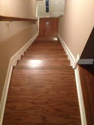 engineered hardwood staircase flooring installation project