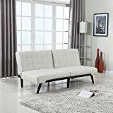 Emily Futon Chaise Lounger Amazon Com Dhp Emily Futon Sofa Bed Modern Convertible Couch