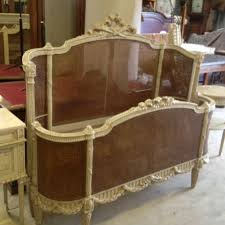 full kingsize french cane bed full corbielle and in excellent
