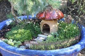 inspiration for a cottage fairy garden diy