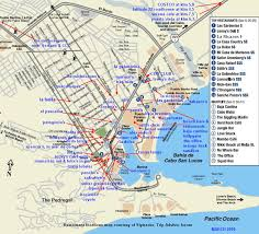 san jose cabo map hotels cabo maps