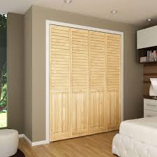 Home Depot 2 Panel Interior Doors by Beautiful Louvered Closet Doors Interior Pictures Amazing