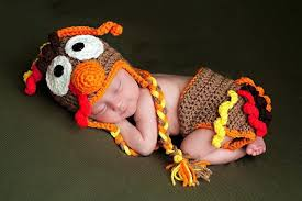 free shipping baby crochet turkey hat cover set crochet