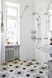 scandinavian bathroom design apartments scandinavian bathroom design with hexagonal floor