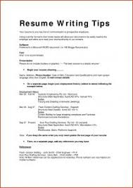 Plain Resume Template Exles Of Resumes Resume Sle Hardcopy And Plain Text Free