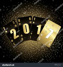 black gold cards 2017 vector stock vector 426340678