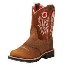 brown s boots sale ariat youth powder brown and neon pink fatbaby boots