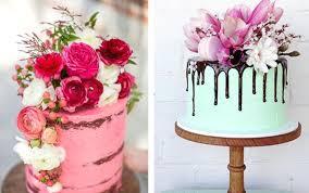 birthday flower cake beautiful floral cakes pretty birthday cake ideas
