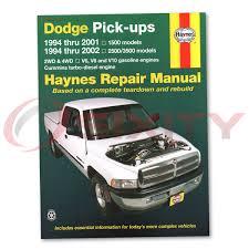 1999 dodge ram manual dodge ram 2500 haynes repair manual base shop service garage book
