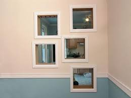 How To Frame A Wall by How To Framing Mirrors With Crown Molding Hgtv