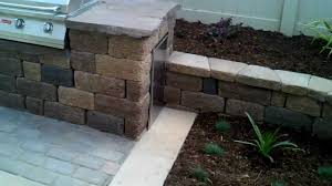 Retaining Wall Patio Design Oxnard Landscape Design Pavers Patio Concrete Retaining Wall