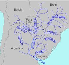 parana river map aln no 44 varady milich ii image plata river basin map