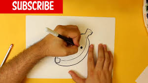 how to draw a bananas cute easy step by step drawing lessons for