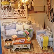 Dolls House Furniture Diy Doll House Furniture Diy Miniature Dust Cover 3d Wooden Miniaturas