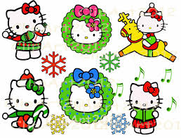 hello kitty christmas clipart 32