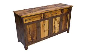 vermont country reclaimed wood buffet fairhaven furniture