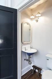 powder room sink tiny vintage powder room with wall mount sink vintage bathroom