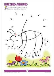 1 25 dot to dots a get ready book ages 4 6 joan hoffman robin