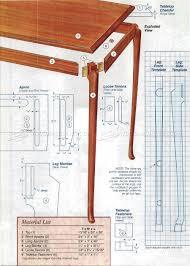Side Table Plans Cabriole Leg Side Table Plans U2022 Woodarchivist