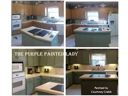 How To Refinish Kitchen Cabinets With Paint Do Your Kitchen Cabinets Look Tired The Purple Painted Lady