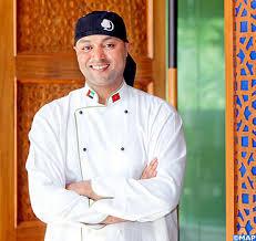chef cuisine maroc saad dine el otmani intervenant à madrid lors d un séminaire sur