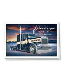 trucking cards postcards promotional products