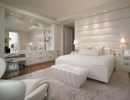 Rugs For Laminate Wood Floors Luxury Plush White Bedroom Design Ideas With White Furniture