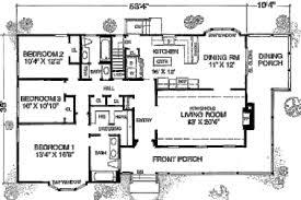 simple farmhouse floor plans 15 simple one floor house plans 1 600 sf farmhouse house plan