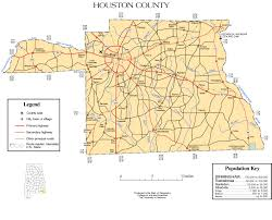 Map Houston County Map Of Houston Indiana Map