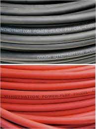 1 0 awg welding cable wire red black gauge copper wire battery