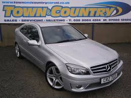 Mercedes C Class Coupe 2008 Sep 2008 Mercedes Clc Class Cdi Sport Only 76k Full Leather