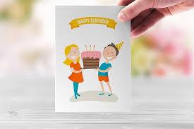 birthday card template photoshop happy birthday card love 204 190