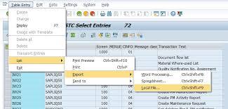 sap t code description table t codes for sap pm