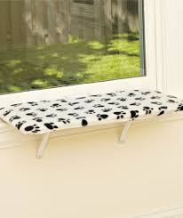 window bench for dog amazon com 24 fleece lazy pet kitty cat window perch seat bed