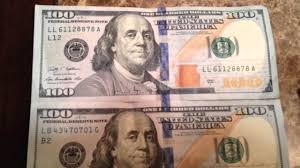 100 dollar bill blue line conspiracy or not united stat