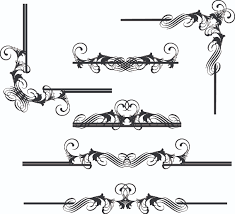 art nouveau frame sketch free stock photos rgbstock free