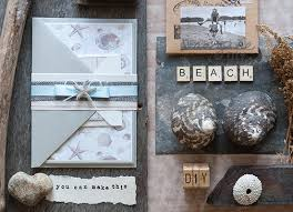 Beach Theme Wedding Invitations How To Make Beach Theme Wedding Invitation Imagine Diy