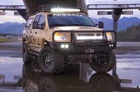nissan titan hood scoop nissan listens to fans creates insane titan truck for the alaskan