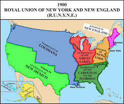New York Political Map by Map Of The Royal Union Monarchical Usa In 1900 By Matritum On