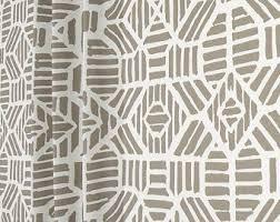 Home Decor Fabric Home Decor Fabrics Contemporary Ikats Tribal By Cottoncircle