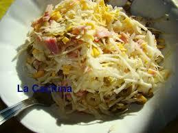 cuisiner choux blanc recette de salade de chou blanc aux olives et jambon la recette facile