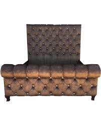 California King Sleigh Bed Amazing Deal On Tufted Headboard Sleigh Channel Tuft Velvet