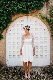 robe de mariã courte courtes mi longues asymétriques 20 robes de mariée 2017 qu on