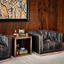 Library Chair Westerly Club Chair Modern Top Grain Leather U2013 Artesanos Design