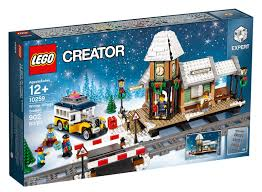 adult legos lego s 2017 holiday set is just waiting for a train