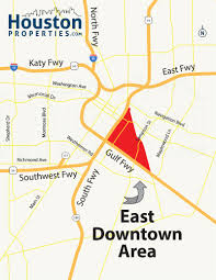 Map Of Houston Area Map Of East Houston Indiana Map