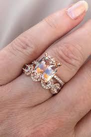 morganite wedding set 24 cheap and stylish morganite engagement rings oh so