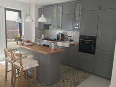 ikea grey kitchen cabinets bodbyn ikea gray lower cabinets kitchen pinterest gray