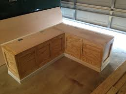 Simple Wood Bench Seat Plans by Simple Storage Bench Plans Corner Storage Bench Plans Ideas